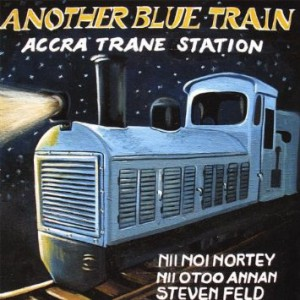 accra trane station - another blue train