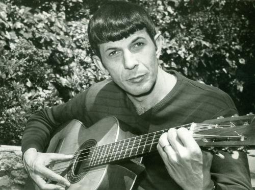 leonard nimoy guitar